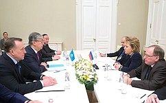 Парламентарии России иКазахстана будут активно содействовать развитию интеграционных процессов вЕАЭС— В.Матвиенко