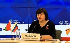Е. Афанасьева: Наш долг– сохранить историческую память оВеликой Отечественной войне
