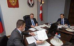 Дни Удмуртии вСовете Федерации состоятся вконце ноября