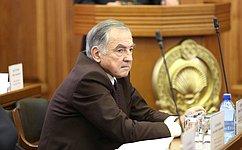 Ю.Бирюков принял участие вобсуждении бюджета Республики Калмыкия на2017–2019года