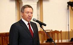 Поздравление члена Совета Федерации Олега Королева сДнем Победы!