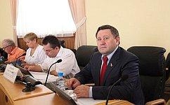 М. Пономарев принял участие взаседании Тюменской областной Думы