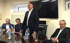 В. Абрамов провел рабочие встречи напредприятиях Подмосковья