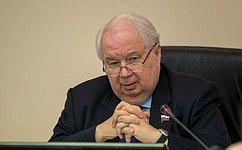 Российские сенаторы готовы кобсуждению вопросов зимней сессии ПАСЕ– С.Кисляк