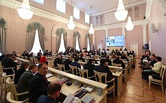 Сенаторы приняли участие вмеждународной конференции «Применение вооружений всовременных конфликтах: гуманитарные аспекты»