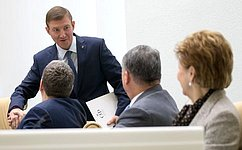 А.Турчак избран заместителем Председателя Совета Федерации