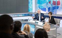 О.Морозов обсудил смолодыми западными политологами-русистами актуальные проблемы международных отношений