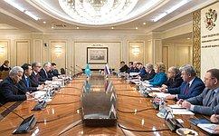 Federation Council Speaker Valentina Matviyenko meets with President ofKazakhstan Kassym-Zhomart Tokayev