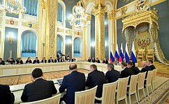 В.Матвиенко приняла участие взаседании Государственного совета