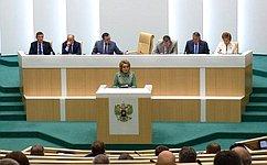 Председатель Совета Федерации подвела итоги весенней сессии