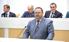 А. Шевченко стал первым зампредседателя Комитета СФ пофедеративному устройству, региональной политике, местному самоуправлению иделам Севера