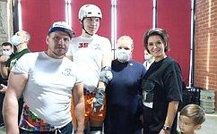 М. Павлова открыла первые региональные соревнования вЧелябинской области пороллер-спорту среди детей сограниченными возможностями здоровья