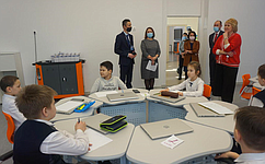 Л. Гумерова встретилась сучащимися ипедагогами Полилингвальной многопрофильной школы вУфе