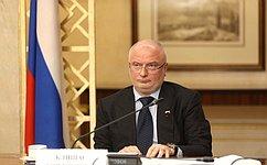 А. Клишас провел прием граждан, проживающих вКрасноярске