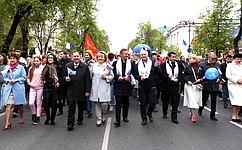 А. Михайлов: Первое мая праздник Весны иТруда