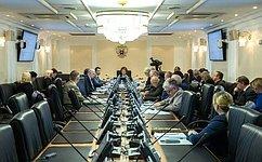 Приоритетные направления госполитики всфере науки инаучно-технической деятельности обсудили вКомитете СФ