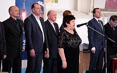 Л.Козлова открыла Всероссийский турнир посамбо, посвященный памяти Ю.Гагарина