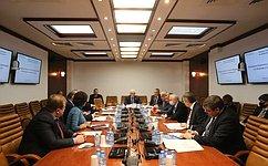 ВКомитете СФ пообороне ибезопасности рекомендовали кодобрению Советом Федерации изменения вфедеральные законы