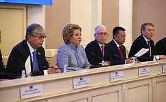 Руководители парламентов стран-участниц МПА СНГ приняли заявление о25-летии Межпарламентской Ассамблеи