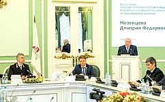 Д. Мезенцев принял участие витоговом заседании правления ОАО «РЖД»