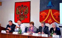 Е. Атанов обсудил сжителями Тепло-Огаревского района Тульской области проблемные вопросы ЖКХ