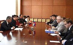 М. Дидигов: Межпарламентские связи могут внести большой вклад вразвитие стратегического партнерства России сМонголией