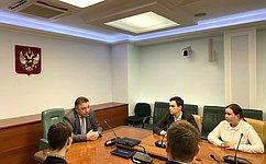 Важно повышать уровень правовой культуры молодежи— В.Тимченко