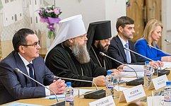 Н. Федоров выступил назаседании Оргкомитета XXIV Международных Рождественских образовательных чтений