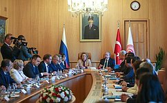 Valentina Matviyenko: Russian and Turkish parliamentarians must contribute to promoting bilateral cooperation