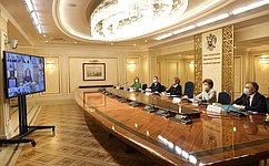 В. Матвиенко: Россия переживает важный исторический момент, когда востребованы инициативы иэнергия молодежи