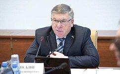 Сенаторы поддержали законодательную инициативу Курской областной Думы— В.Рязанский