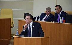 С.Рябухин принял участие вработе Всероссийской конференции Союза муниципальных контрольно-счетных органов вУльяновске