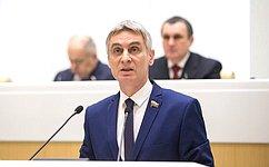 Полномочный представитель СФ вМинистерстве юстиции РФ С.Фабричный отчитался освоей работе за2018год