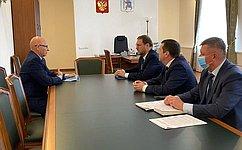 К. Косачев входе рабочей поездки вРеспублику Марий Эл посетил крупные промышленные предприятия региона