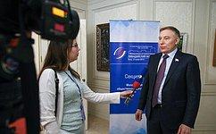 А.Варфоломеев: Молодежь активно участвует вобщественной дипломатии