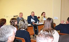 О.Мельниченко провел вНефтеюганске «Урок местного самоуправления»