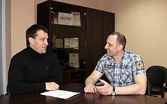 Э.Исаков провел прием граждан повопросам развития спорта, образования, обустройства придомовой территории вЮгре