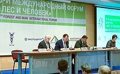 В. Лебедев: Лесная отрасль имеет огромный потенциал развития