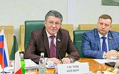 Необходим межпарламентский диалог России истран НАТО поширокому кругу вопросов международной безопасности— В.Озеров
