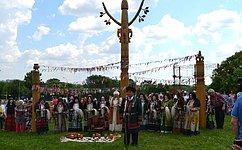 А.Акимов принял участие вякутском национальном празднике Ысыах вМоскве