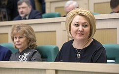 Л.Гумерова: ВСовете Федерации придают большое значение развитию института интеллектуальной собственности