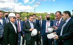 А. Чернецкий принял участие взапуске строительства новых жилых иинфраструктурных объектов вЕкатеринбурге