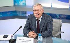 О.Морозов провел встречу спредставителями сообщества русскоговорящих студентов изВеликобритании