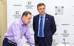 В. Новожилов посетил Архангельский областной институт открытого образования