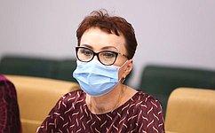 Т. Кусайко встретилась сПредседателем Федерального фонда обязательного медицинского страхования