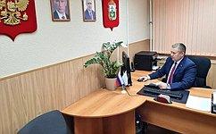 Д. Гусев: Прямая адресная помощь гражданам наместах— важная часть работы парламентариев