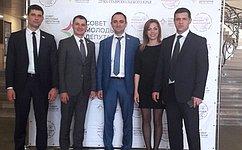 Д. Шатохин поделился опытом законотворческой деятельности смолодыми депутатами Ставропольского края