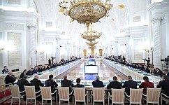 В. Матвиенко приняла участие взаседании Государственного совета повопросу развития конкуренции встране