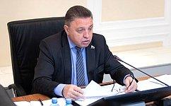 Мы продолжим работу над законопроектами, совершенствующими инструменты новой регуляторной политики— В.Тимченко