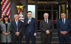 М. Хапсироков принял участие вторжественном открытии студенческого общежития